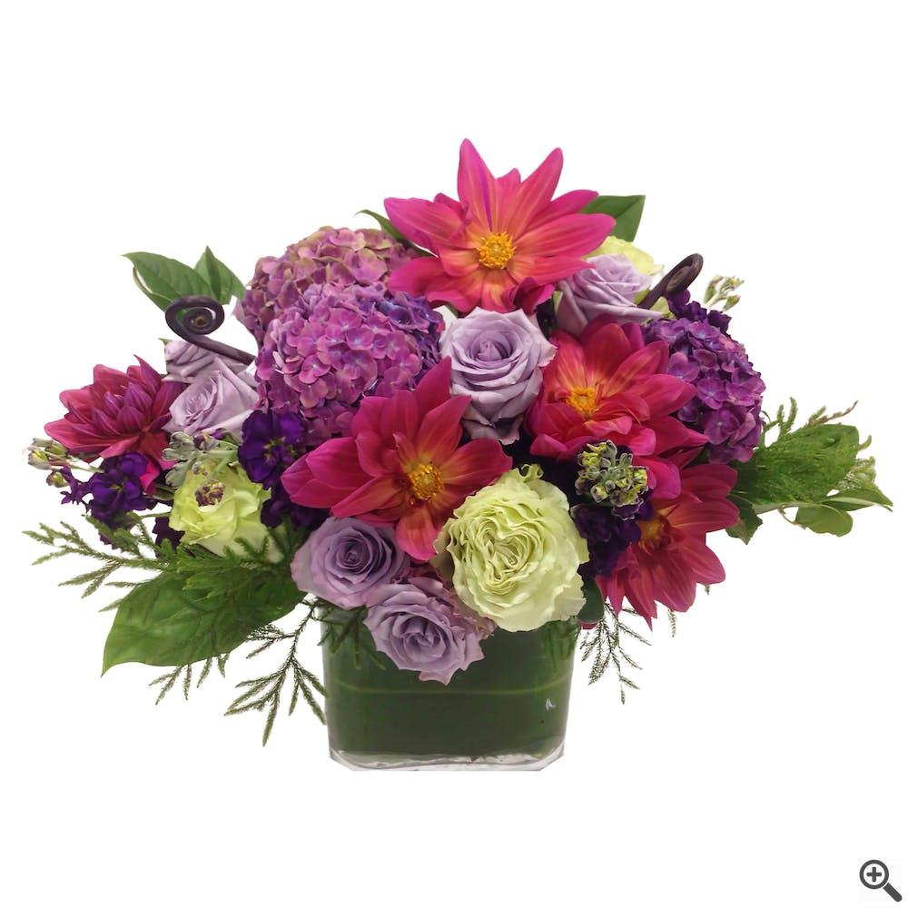 Mauve Madness Floral Arrangement