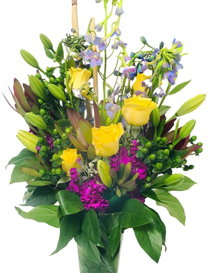 Diana Flower Arrangement | San Francisco Florist Since 1871 Free Bay Area and San Francisco Flower Delivery