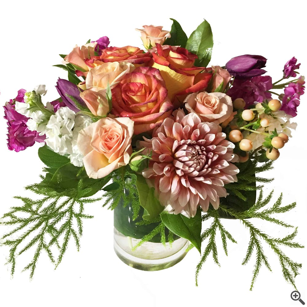 Evening Attraction Flower Arrangment