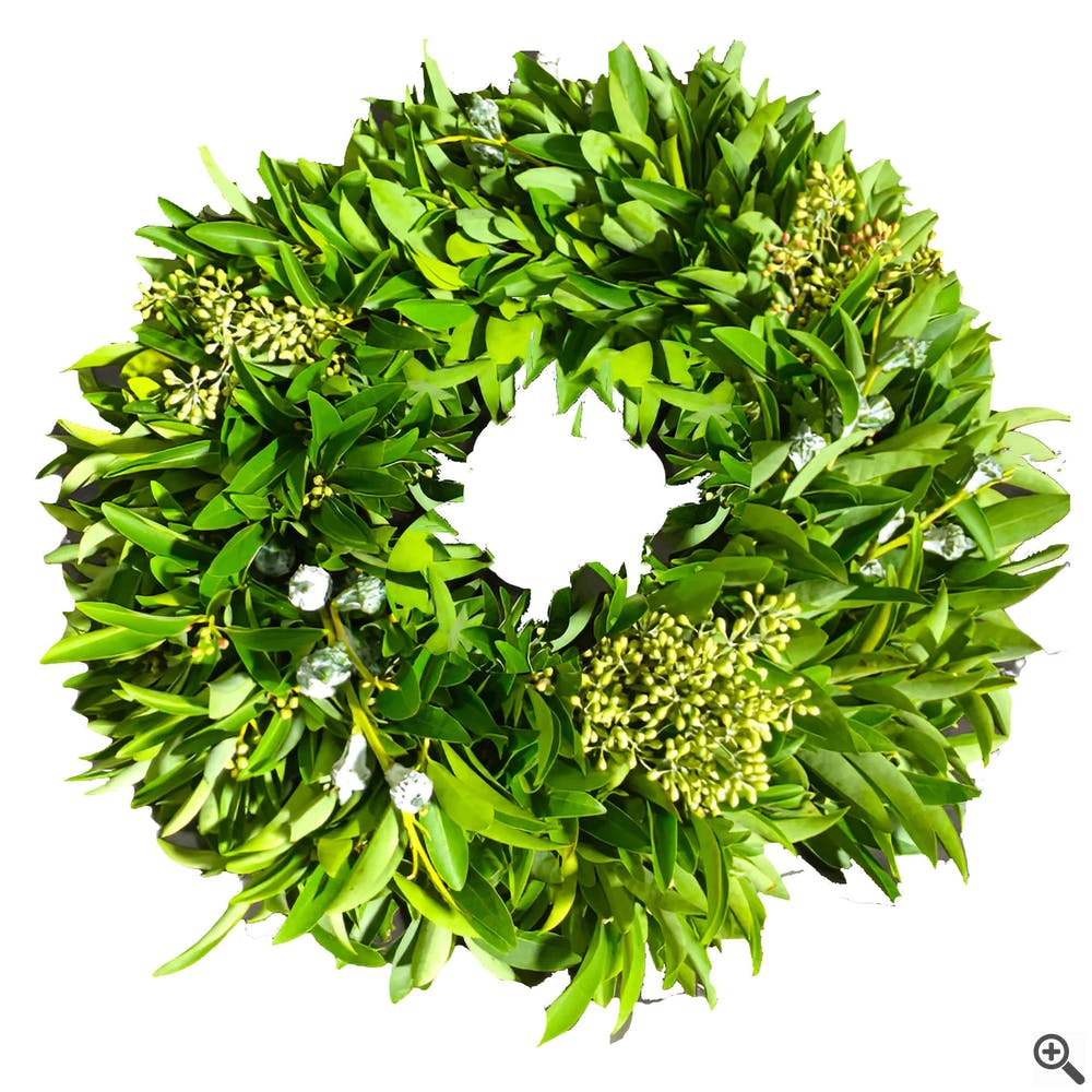 Green Berry Wreath