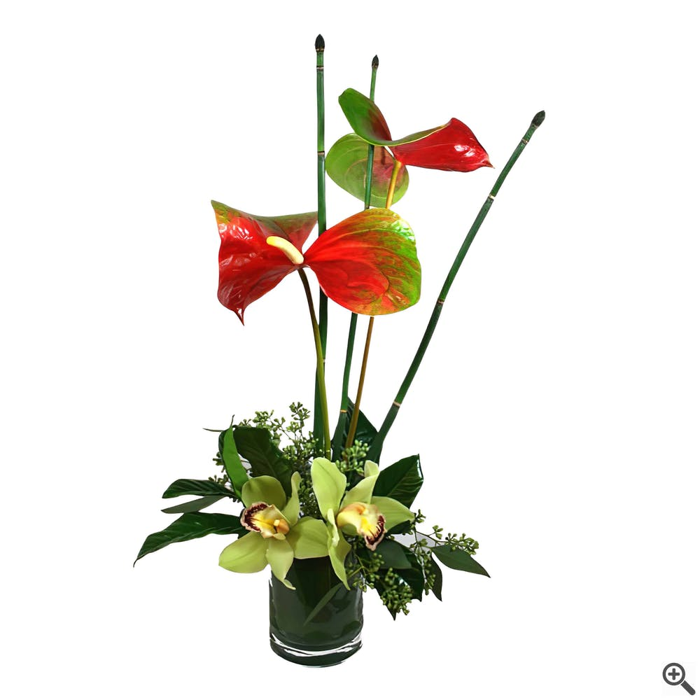 Hawaii Six-O Flower Arrangement