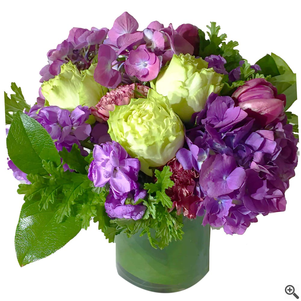 Viola Profondo Floral Arrangement