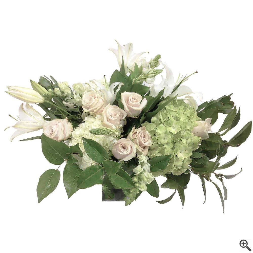 Sensational Whites Floral Arrangement