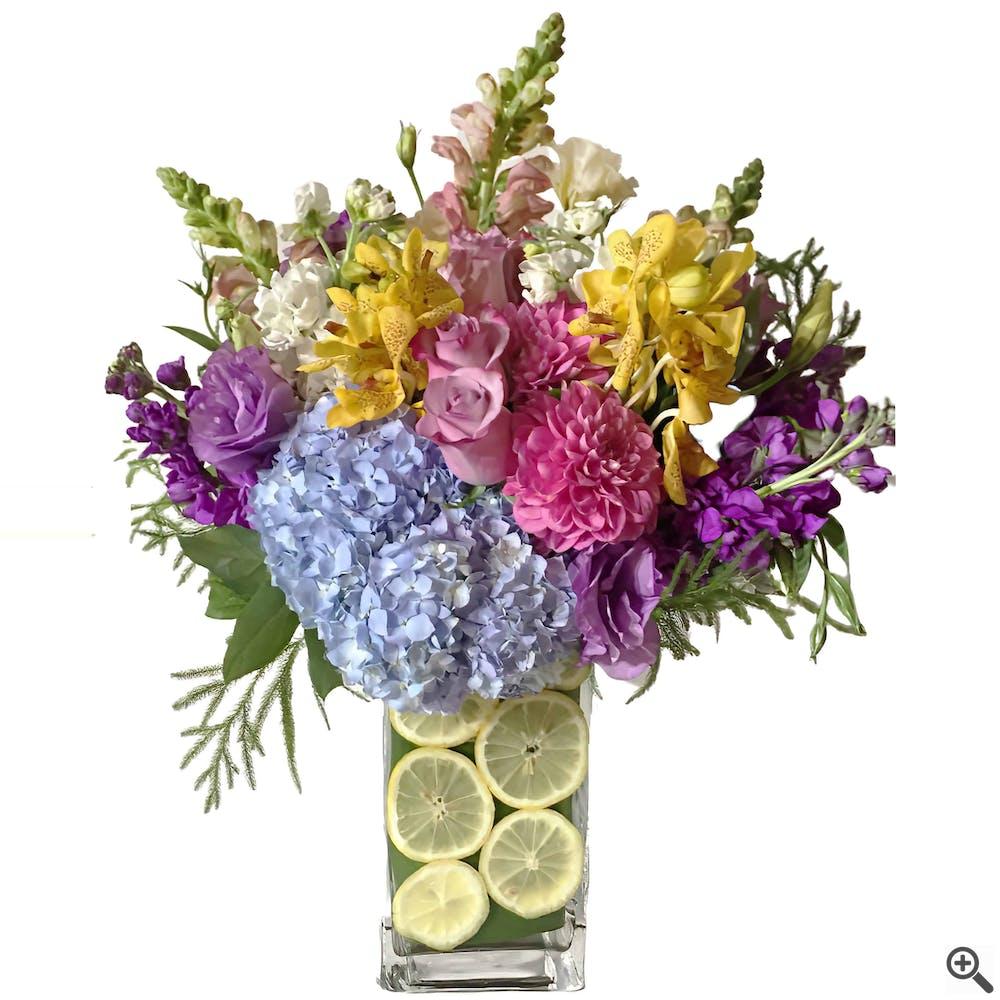 "Limes & Flowers - ""Citrus Collection"" Flower"