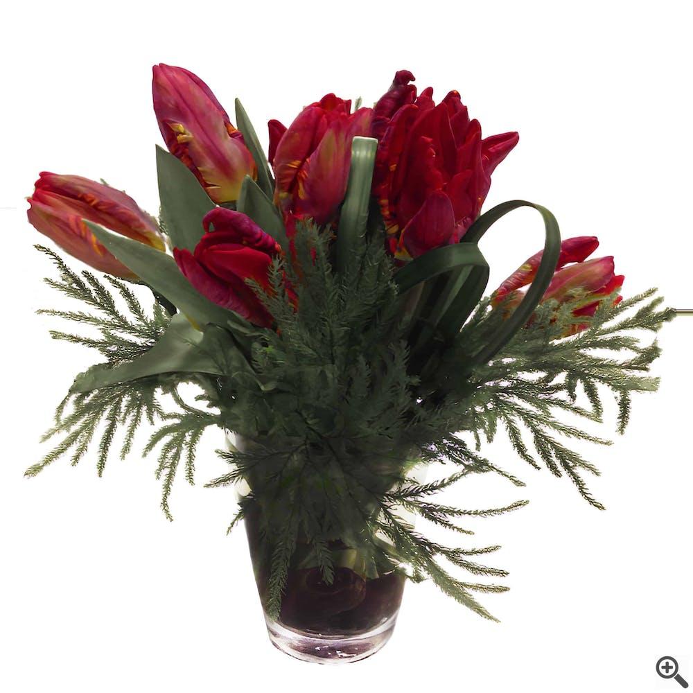 Love in Red Flower Arrangement