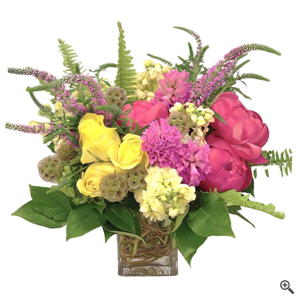 Pure Ilex Flower Arrangement