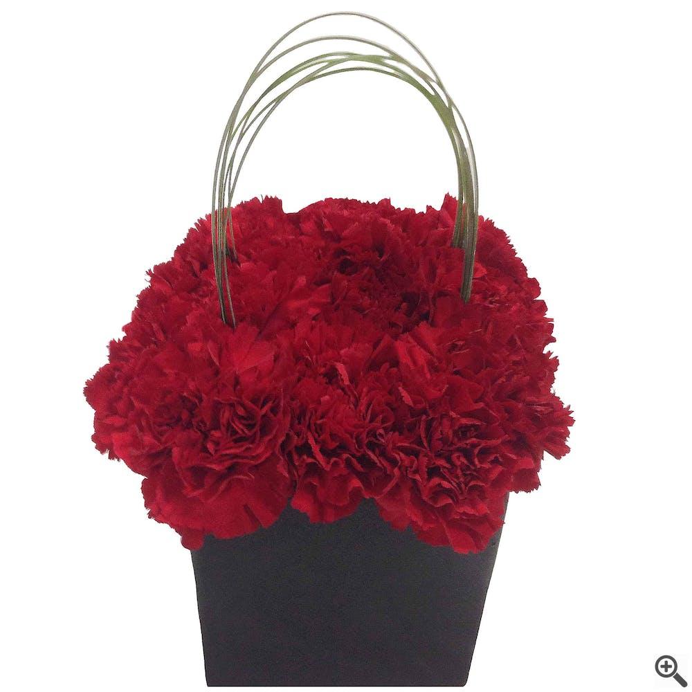Red Box of Modern Love - Flower Arrangement