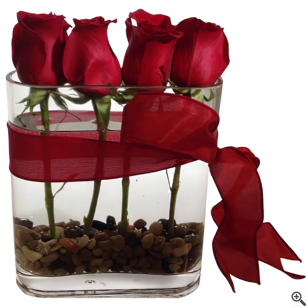 Romantic Roses Flower Arrangement
