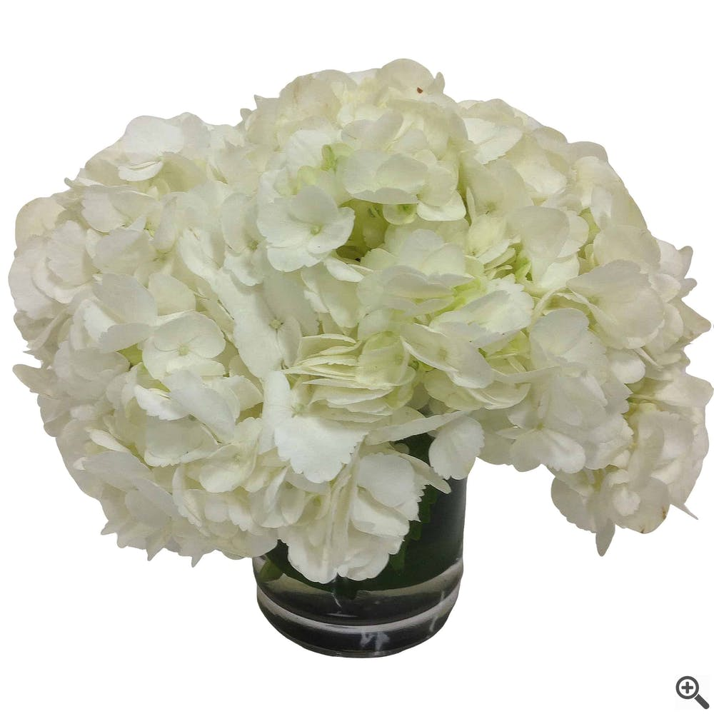Simply Hydrangea Flower Arrangement