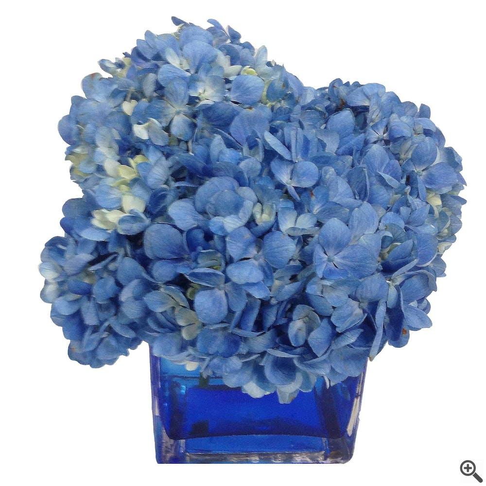 Simply Summer Blues Flower Arrangement