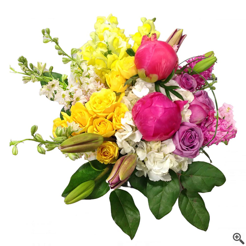 Peony Pair Flower Arrangement
