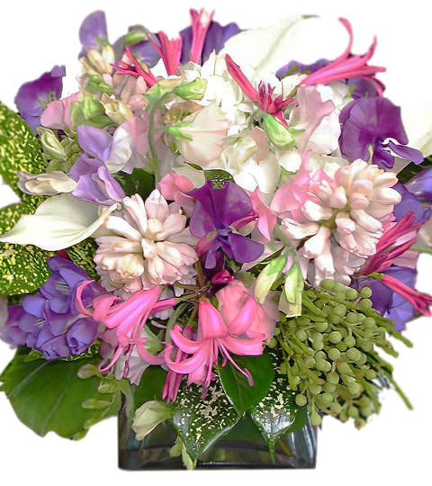 Tropical Princess Flower Arrangement | San Francisco Florist Since 1871 Free Bay Area and San Francisco Flower Delivery
