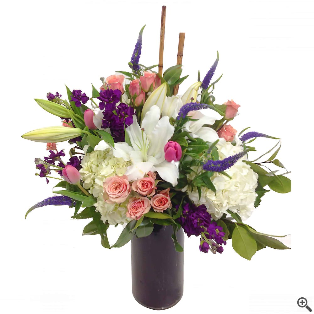 Sweet Lily Flower Arrangement