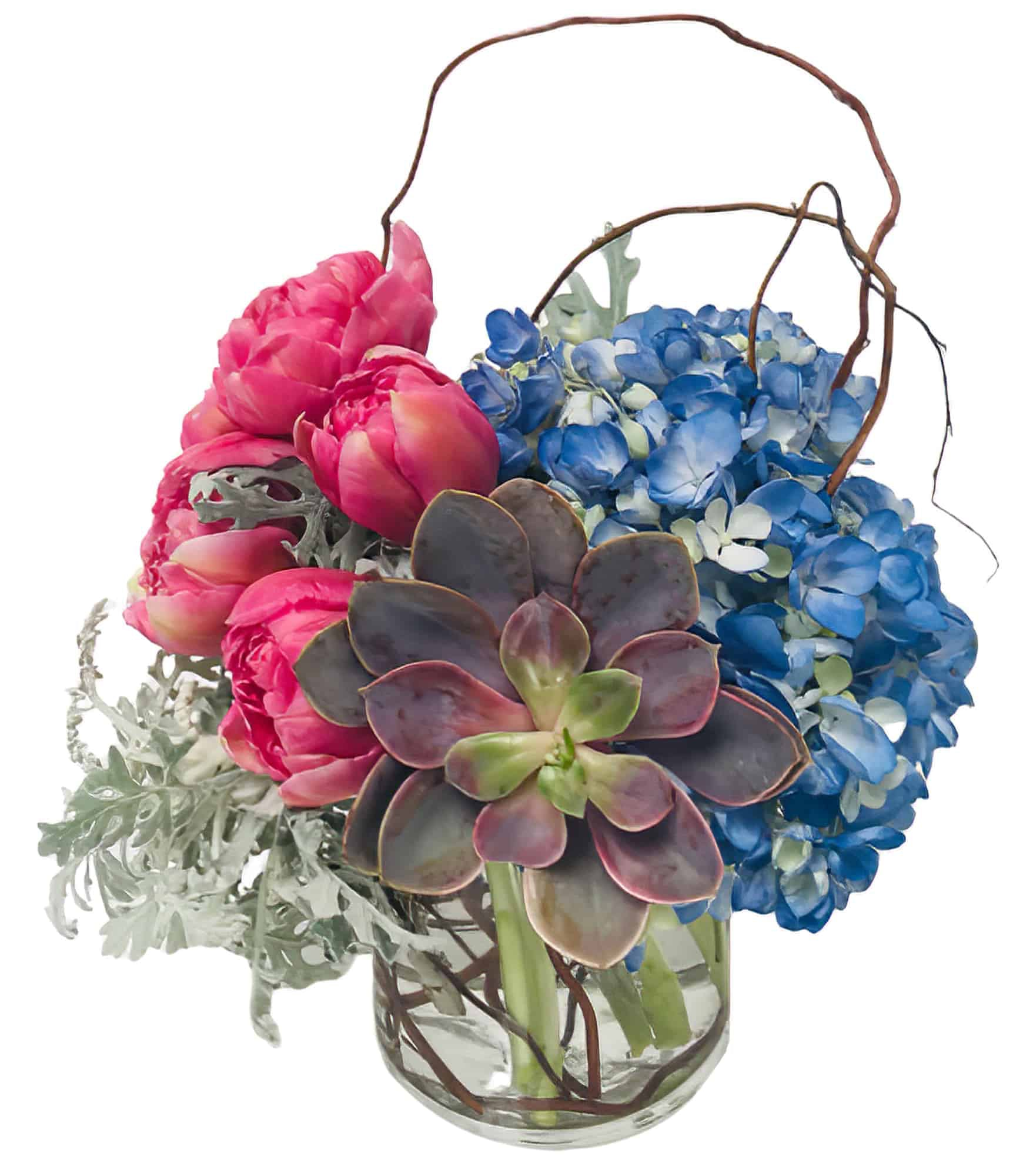 Willows of Spring Flower Arrangement | San Francisco Florist Since 1871 Free Bay Area and San Francisco Flower Delivery