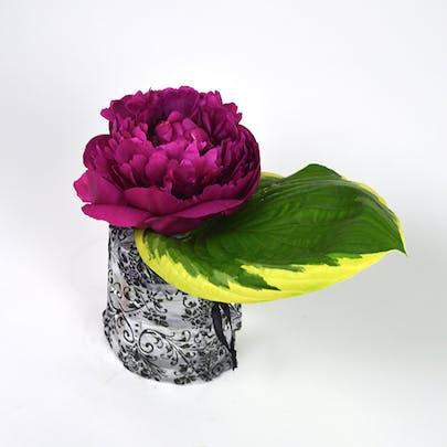 Sheer Elegance Peony Flower Arrangement