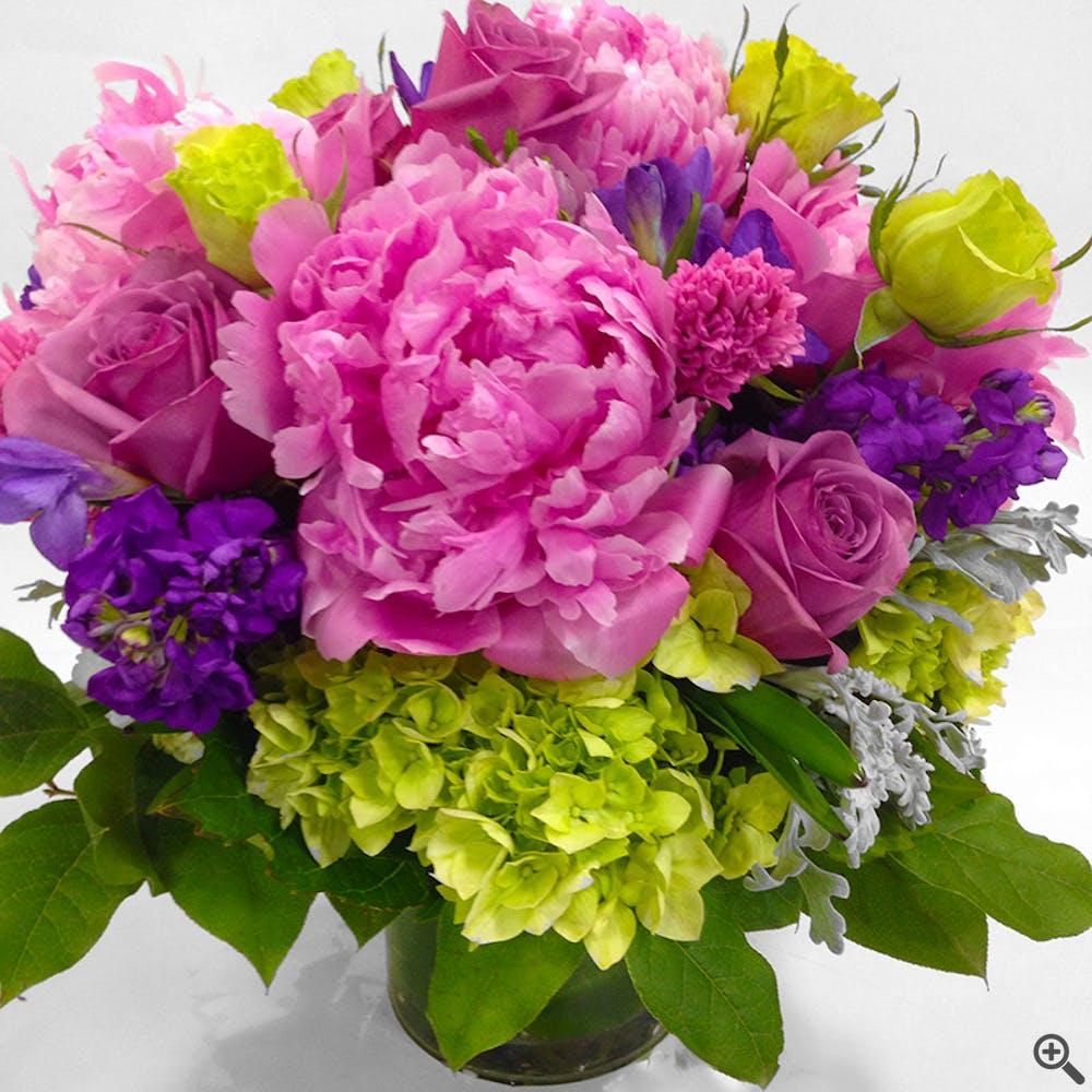 Pop of Peonies Floral Arrangement