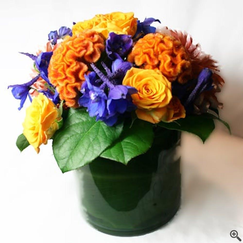 Cuckoo Wrasse Flower Arrangement
