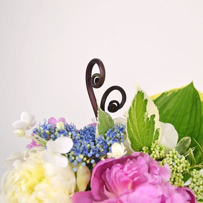 Peony Swirl Flower Arrangement