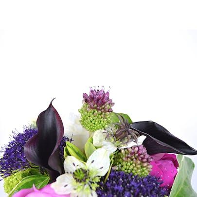 Rainbow Peony Flower Arrangement