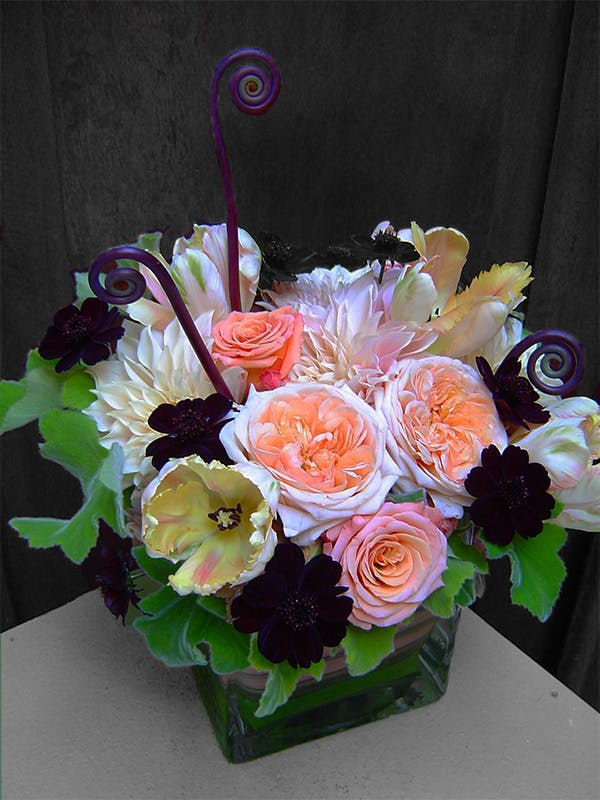 Chocolate Romance Floral Arrangement