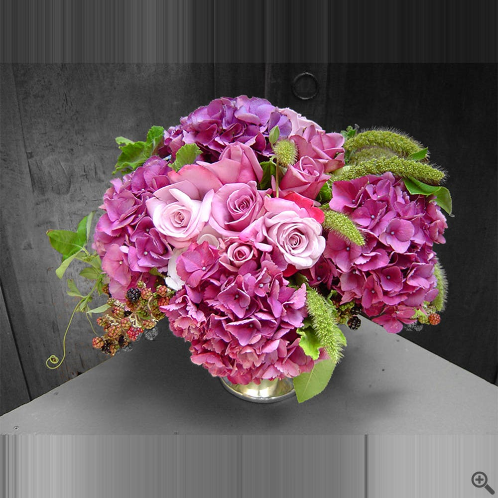 Purple Raspberry Floral Arrangement