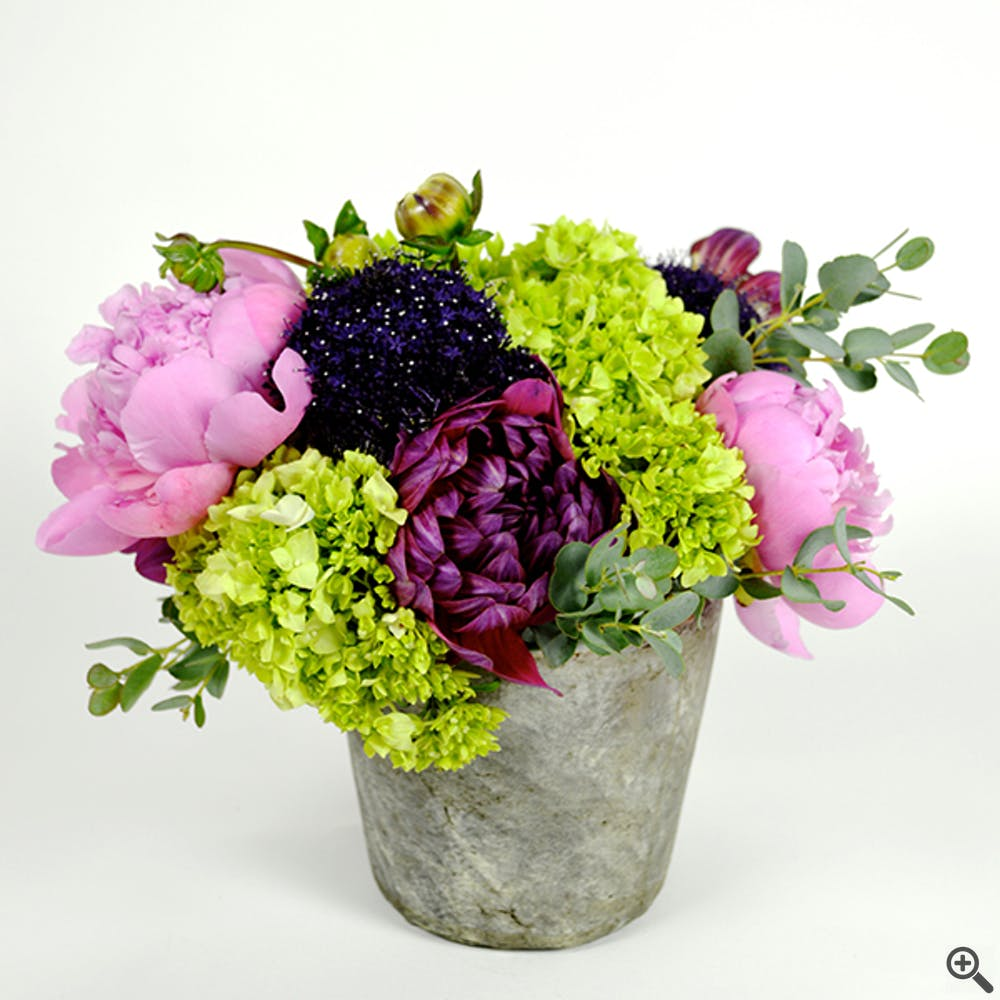 Peony Garden Mix Flower Arrangement