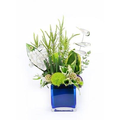 Fishy Flower Arrangement