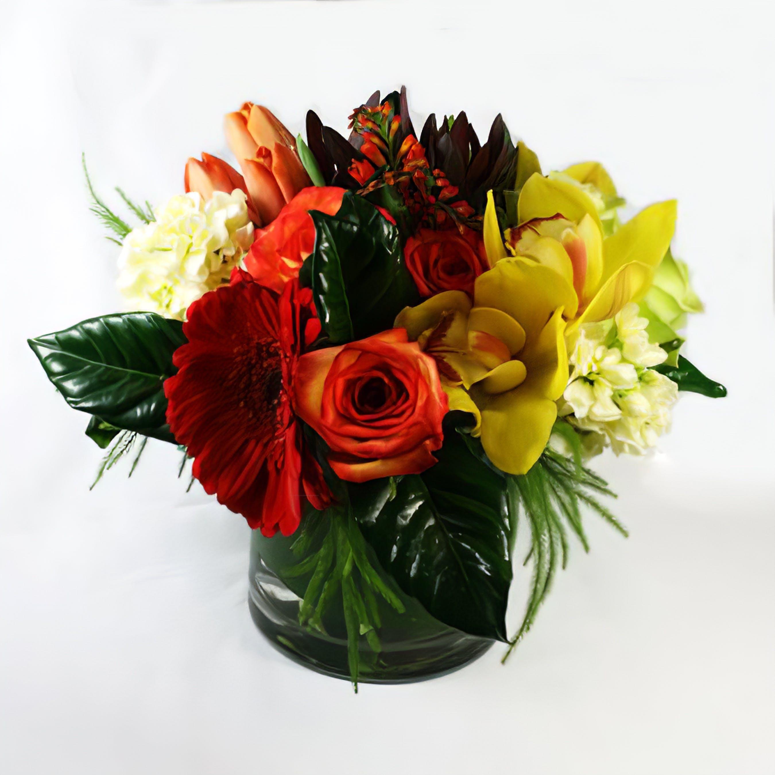Monarch Flower Arrangement
