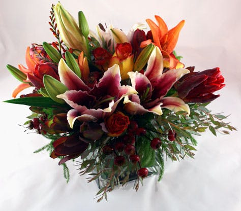 Fiori di Siena Flower Arrangement | San Francisco Florist Since 1871 Free Bay Area and San Francisco Flower Delivery