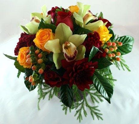 Sicilian Charm Flower Arrangement | San Francisco Florist Since 1871 Free Bay Area and San Francisco Flower Delivery