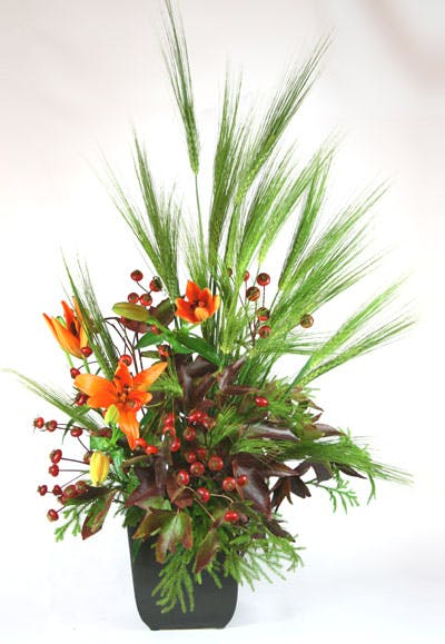 Pacific Harvest Flower Arrangement
