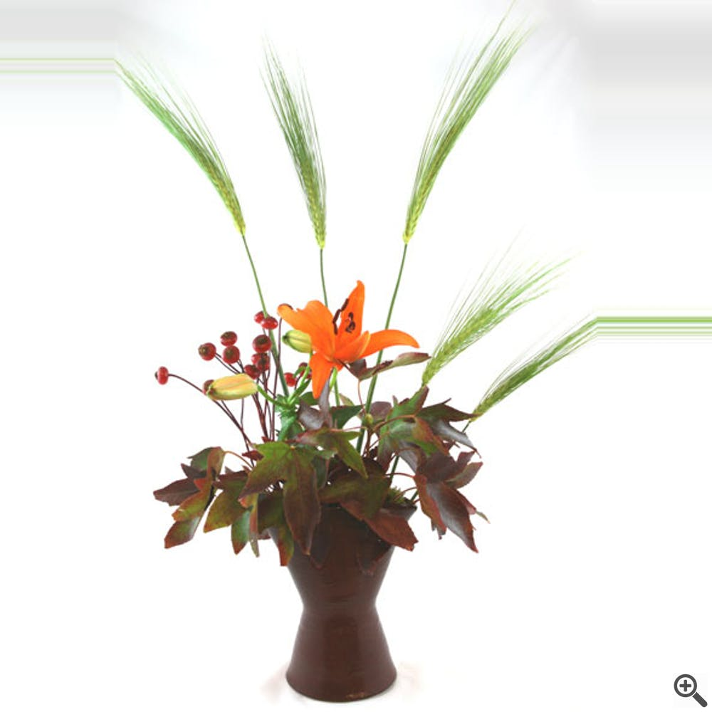 Harvest Moon Flower Arrangement
