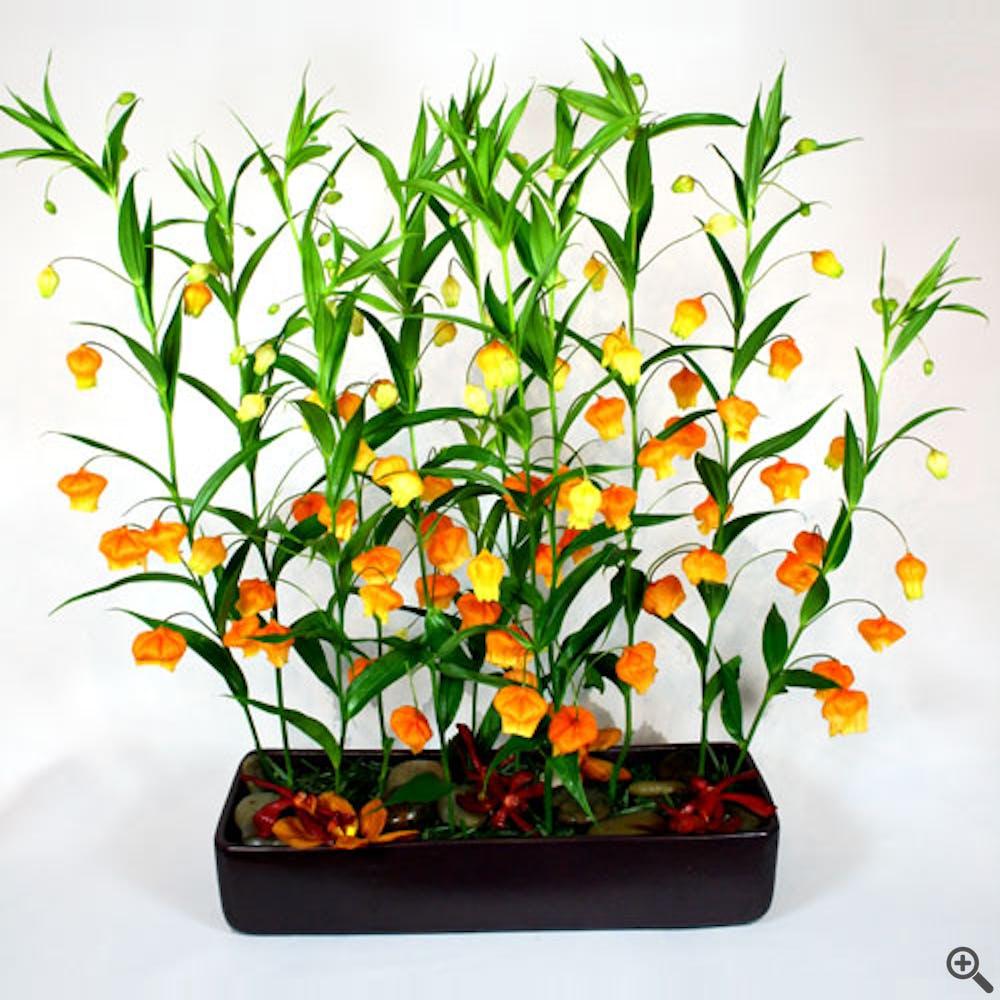 Chinese New Year Lantern Flower Arranegement