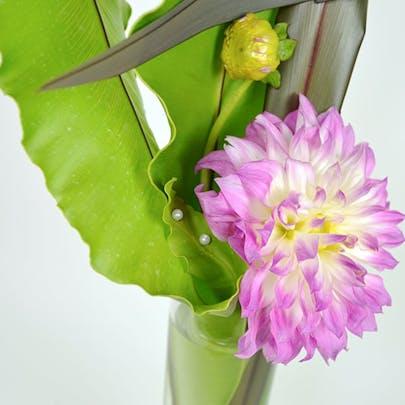 Dahlia Swirl Flower Arrangement
