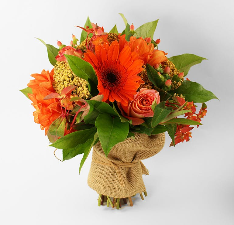 Orange Crush Bouquet | San Francisco Florist Since 1871 Free Bay Area and San Francisco Flower Delivery