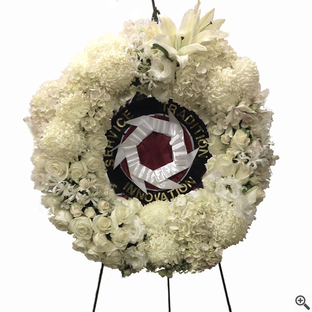 Custom Sympathy Wreath or Spray