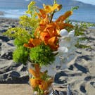 Orchid Shore Flower Arrangement