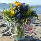 Sea Spray Flower Arrangement