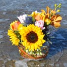 Bright Summer Flower Arrangement