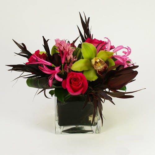 Tropical Passion Flower Arrangement
