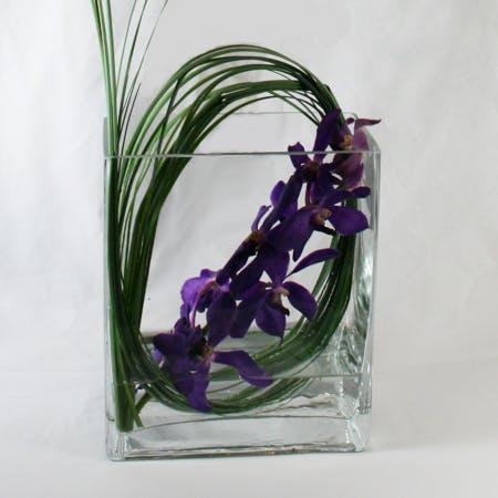 Violet Vanda Flower Arrangement