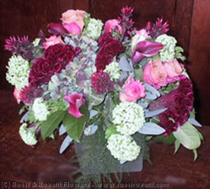Lush-Style Chop Vase Flowers Flower Arrangement