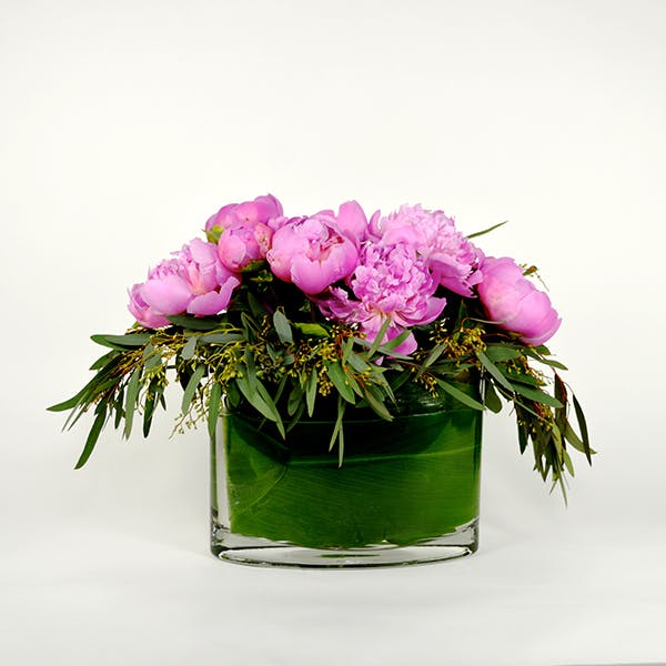 Peony Passion Flower Arrangement